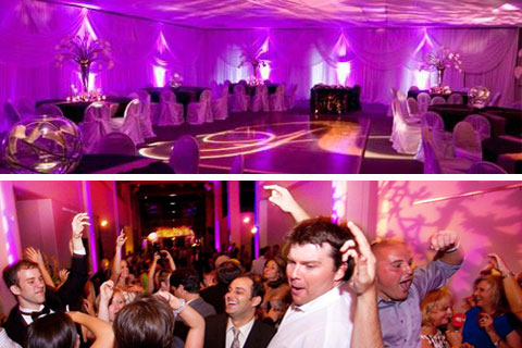 corporate event uplighting hire